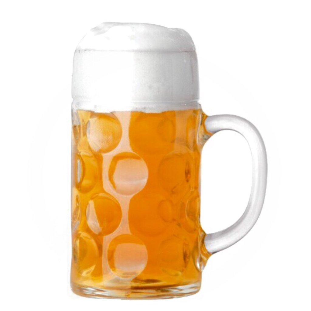 Cl Beer Glass