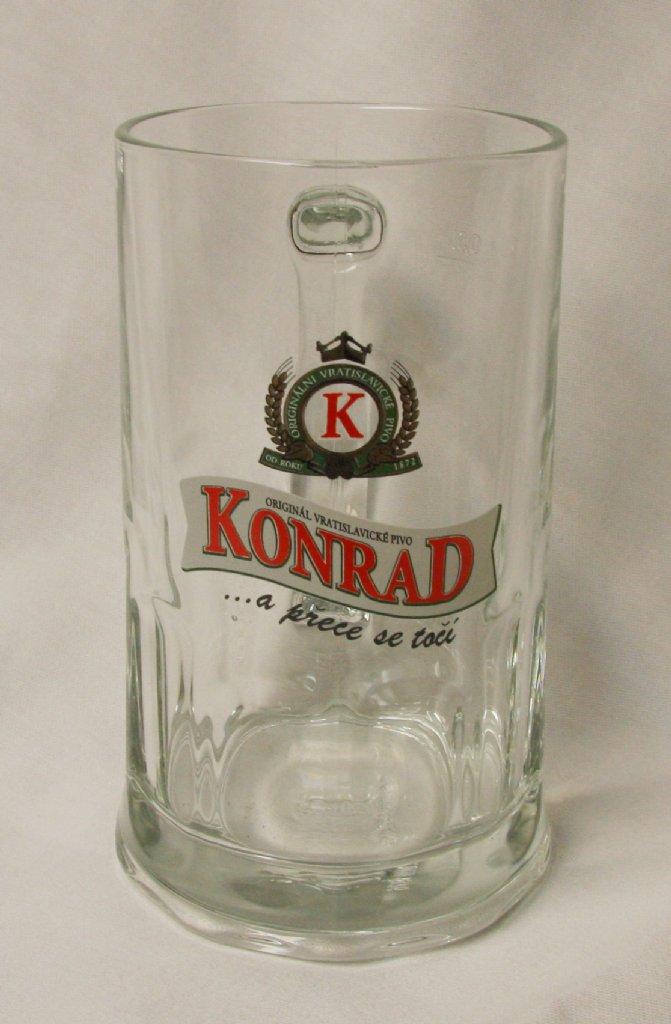 konrad beer mug 50 cl czech republic beer glasses. Black Bedroom Furniture Sets. Home Design Ideas