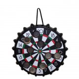 Dart board for caps