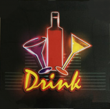 Bar Led sign - Drink