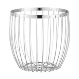 Frikka fruit basket chrome Dorre