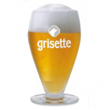 Grisette St feuillien beer glass 25 cl