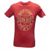 Guinness t-shirt red
