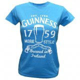 Guinness t-shirt light blue