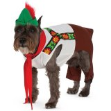 Dog costume, lederhosen size Small