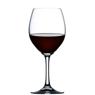 Festival red wine glass