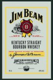 Jim Beam pub mirror