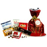 Christmas red gift bag with candy mix 1.1 kg