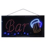 Led sign - Bar beer glass