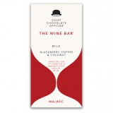 The Wine Bars Malbec milk chocolade 100 gram