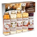 Monin Coffee set 5 x 5 cl
