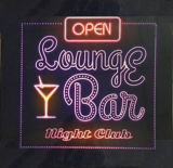 Bar Led sign - Open Lounge Bar Night Club