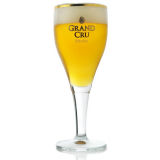 St Feuillien Grand Cru beer glass 33 cl