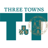 Three Towns beer glass 40 cl