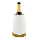 Pulltex Wine cooler with gel white and gold