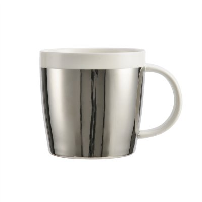 Coffee cup silver
