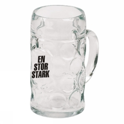 En Stor Stark beer glass  100 cl