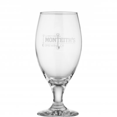Monteiths beer glass