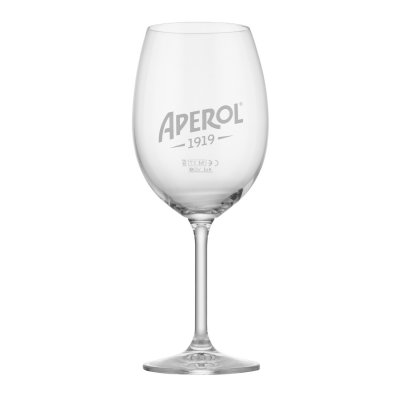 Aperol drink glass logotyp
