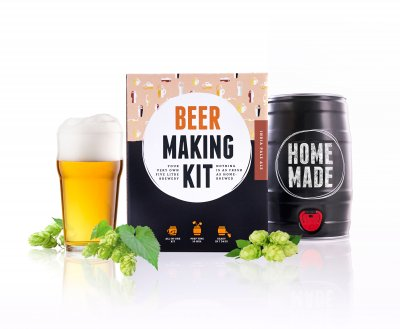 Brew Barrel homebrewing kit - IPA
