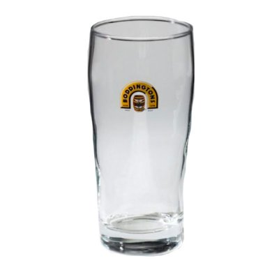 Boddington pint ölglas
