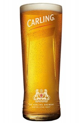 Carling olut lasi pint