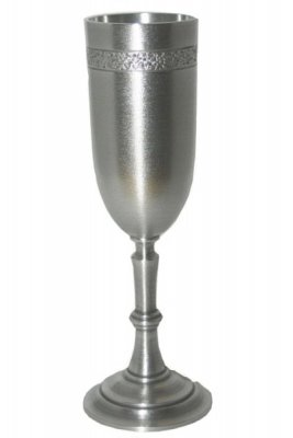 Champagne glass tin