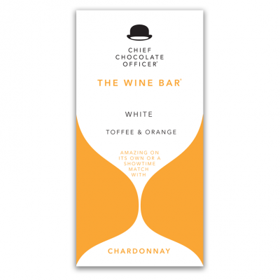 The Wine Bars Chardonnay vit choklad 100 gram