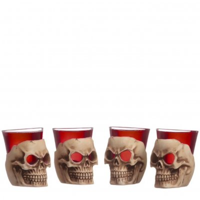 Deadshot shot glass 4-pack