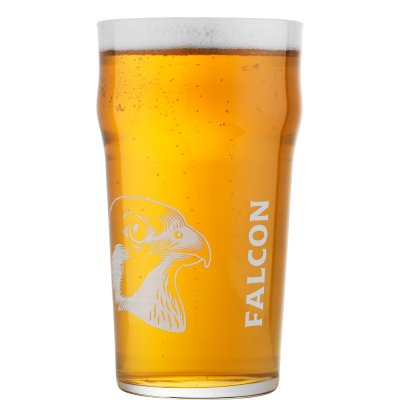 Falcon beer glass 50 cl
