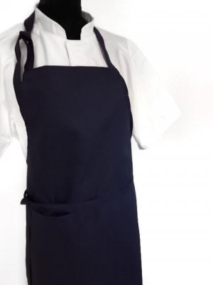 Apron navy blue