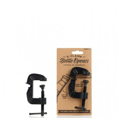 Bottle opener G-clamp