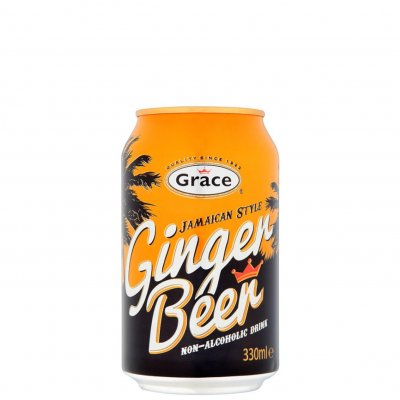 Grace Ginger Beer burk 33 cl can