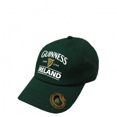 Guinness cap with opener, green