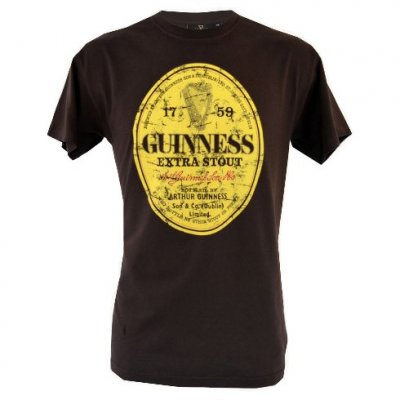 Guinness t-shirt extra stout