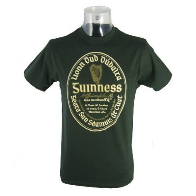 Guinness t-shirt Irish