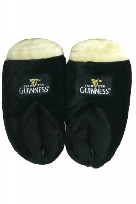 Guinness slippers fluffy
