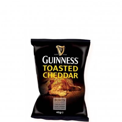 Guinness Chips Toasted Cheddar 40 gram