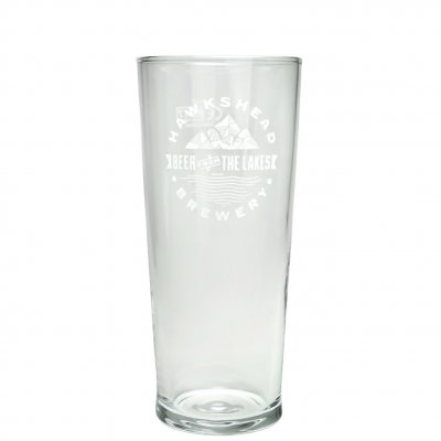 Hawkshead Brewery beer glass