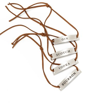 Decanter Tags 4-pack