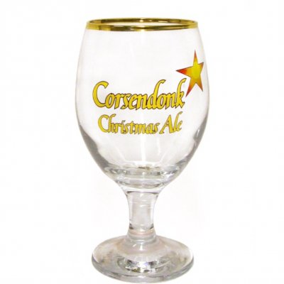 Corsendonk Christmas Ale Ölglas Beer Glass