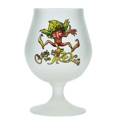 Cuvee de troll ölglas Beer glass