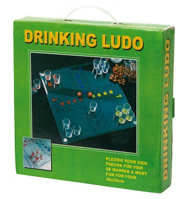 Drinking-Ludo Board Game