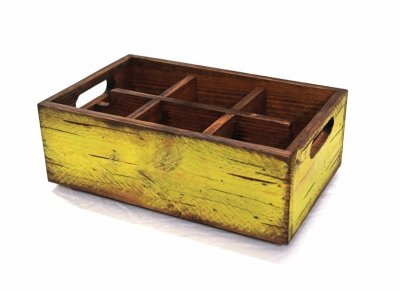 Wooden Box Pistache - large