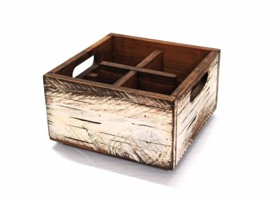 Wooden Box White - small