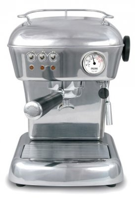 Ascaso Dream Espresso Machine Espressomaskin Polished Aluminium