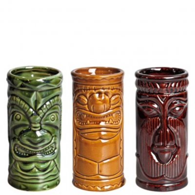 Tiki Cocktailglas 3 pack Cocktail glass