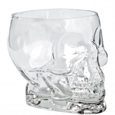 Tiki Skull Glass community drink cocktail skål