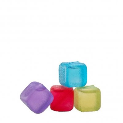 Ice Cubes in multiple colors 16-pack