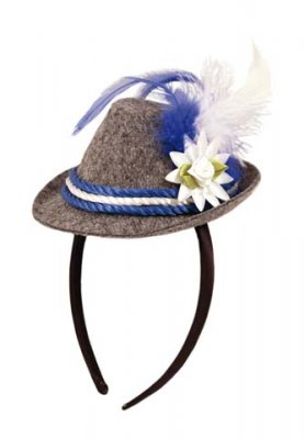 Tyroler Hat with tiara